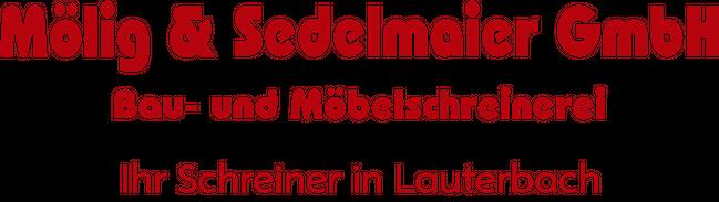Ihre Schreinerei In Lauterbach Molig Und Sedelmaier Gmbh